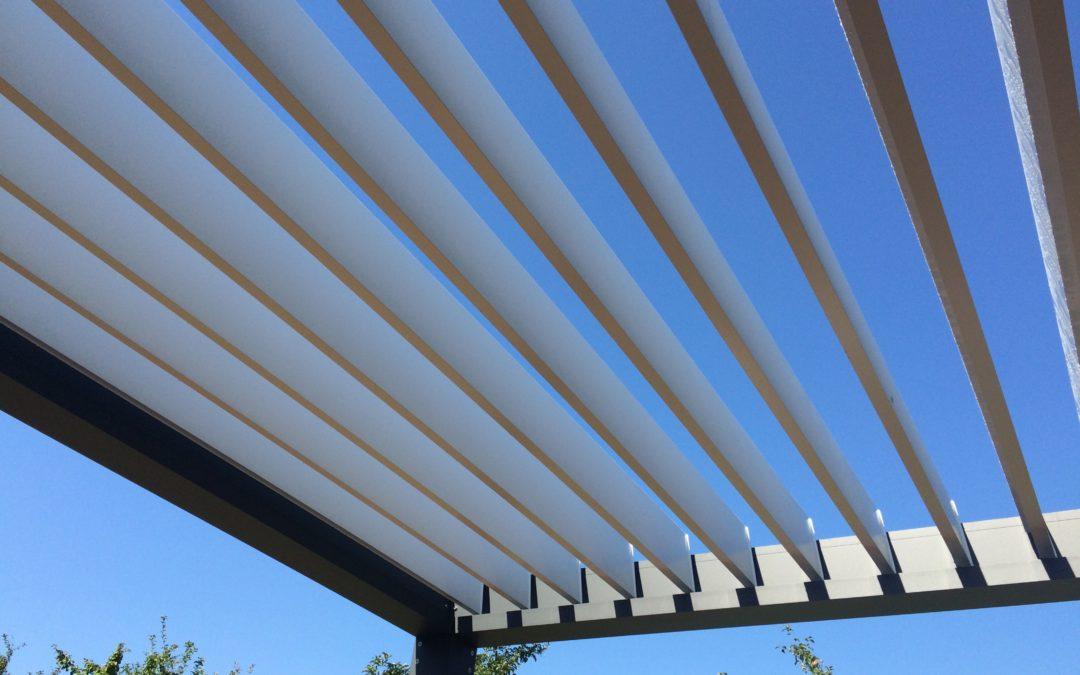 Pergola lamelowa Solar-Tech TOPprima – realizacja firmy MAG