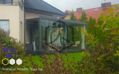 Pergola Top Prima – Realizacja firmy Monolith w domu prywatnym w Grodzisku Wielkopolskim